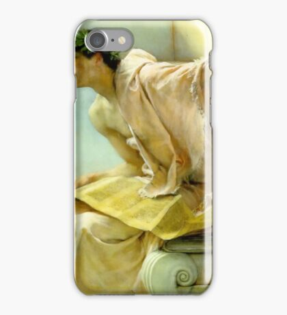 Untitled by Lawrence Alma-Tadema iPhone Case/Skin