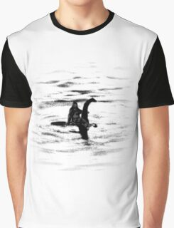 Bigfoot and the Loch Ness Monster team-up confirmed? Graphic T-Shirt