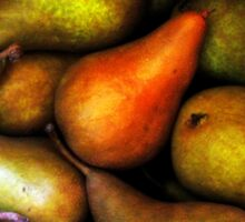Still Life with Pears Sticker