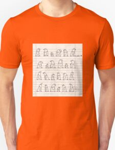 penguin marching Unisex T-Shirt