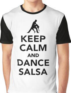 Keep calm and dance Salsa Graphic T-Shirt