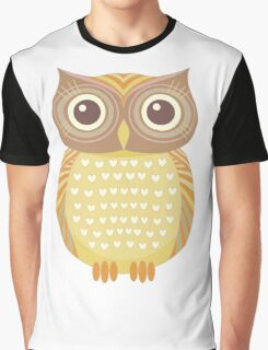 One Friendly Owl Graphic T-Shirt