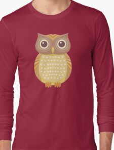 One Friendly Owl Long Sleeve T-Shirt