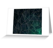 Abstract Polygons Greeting Card