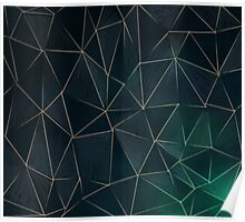 Abstract Polygons Poster