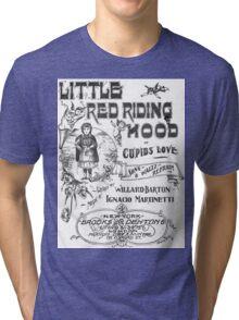 Little Red Riding Hood Tri-blend T-Shirt