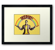 Inspire! Framed Print