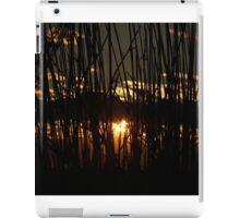 Sunset Through the Tall Grass iPad Case/Skin