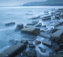 Cloudy Kimmeridge Bay Sticker