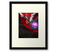 Darkrai Nightmare Framed Print
