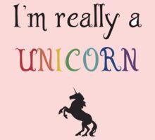 I'm really a unicorn One Piece - Short Sleeve