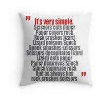 It's very simple Throw Pillow