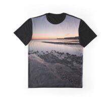 Kimmeridge Bay Sunset Graphic T-Shirt