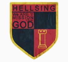 Hellsing logo Kids Tee