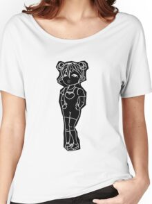 Cute girl Graphic design Women's Relaxed Fit T-Shirt