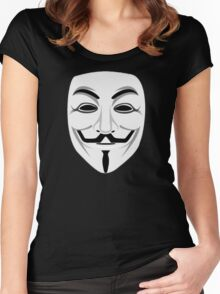 Guy Fawkes Women's Fitted Scoop T-Shirt