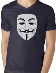 Guy Fawkes Mens V-Neck T-Shirt