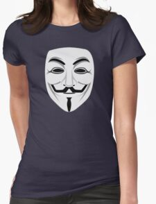 Guy Fawkes Womens Fitted T-Shirt