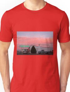 Nostalgic Motel Under Arizona Sunset Unisex T-Shirt