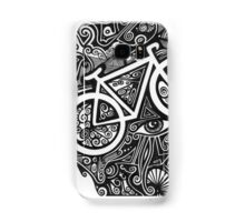 Bicycle abstract art drawing crazy mind Samsung Galaxy Case/Skin