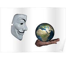 Anonymous - Keeper of the World Poster