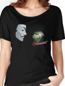 Anonymous - Keeper of the World Women's Relaxed Fit T-Shirt