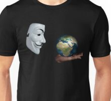 Anonymous - Keeper of the World Unisex T-Shirt