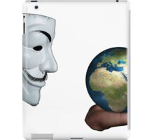 Anonymous - Keeper of the World iPad Case/Skin