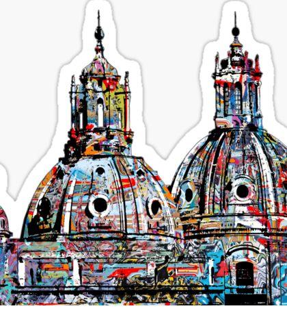 Rome graffiti Sticker