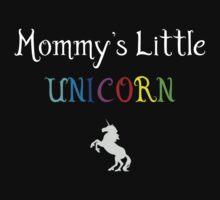 Mommy's Little Unicorn Kids Tee