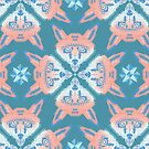 Pastel Fox Patten by chobopop