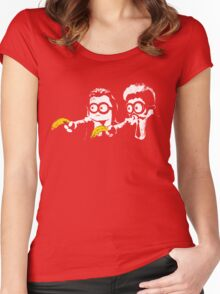 Pulp Minion Women's Fitted Scoop T-Shirt