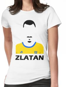 Abstract Zlatan Womens Fitted T-Shirt