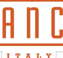 Bianchi Vintage Bicycles Italy Sticker