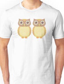 Twin Owls Unisex T-Shirt