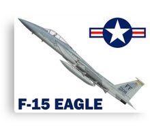 F-15C Eagle 94th Fighter Squadron USAF Canvas Print