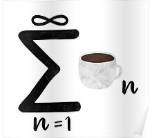 coffee math Poster