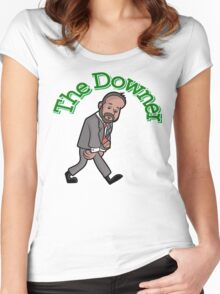 The Downer Women's Fitted Scoop T-Shirt