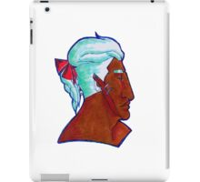 Eric red ribbon iPad Case/Skin
