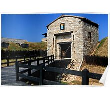 Old Niagara Fort Gatehouse Poster