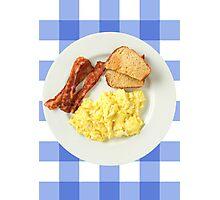 Breakfast Foods Photographic Print