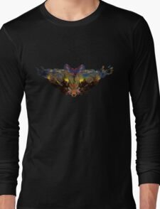 Psychedelic bat... terfly Long Sleeve T-Shirt