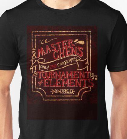Master Chen's Tournament of Elements Unisex T-Shirt