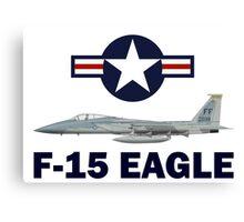 F-15 Eagle Profile USAF Canvas Print