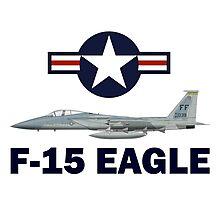 F-15 Eagle Profile USAF Photographic Print
