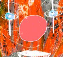Freaky Clown3 Sticker