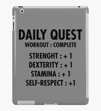 Daily Quest iPad Case/Skin