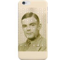 Every code is an enigma iPhone Case/Skin