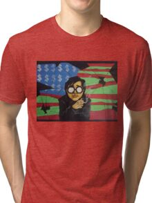Bill smoking Tri-blend T-Shirt