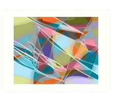 Fly Away -- abstract art Art Print